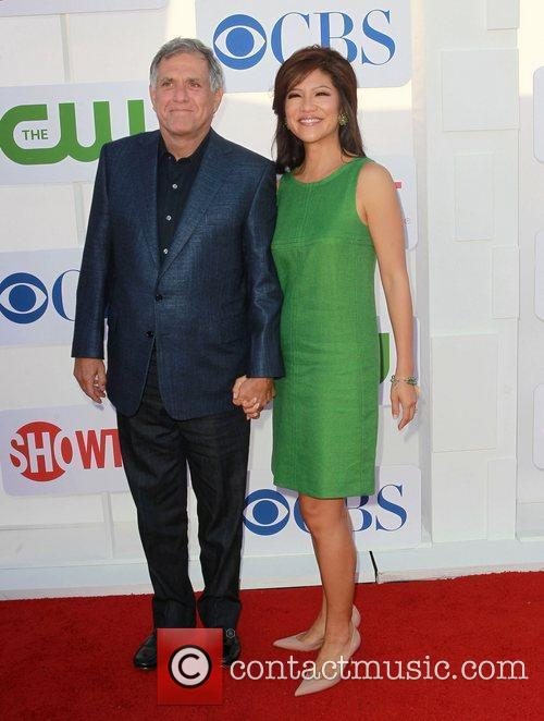 Leslie Moonves; Julie Chen CBS Showtime's CW Summer...