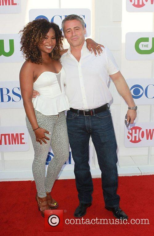 Tanika Ray, Matt Le Blanc and Beverly Hilton Hotel