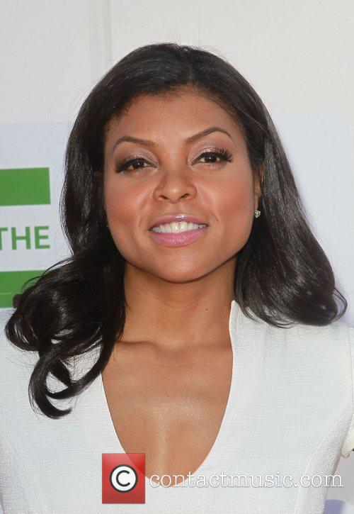 Taraji P Henson and Beverly Hilton Hotel 1