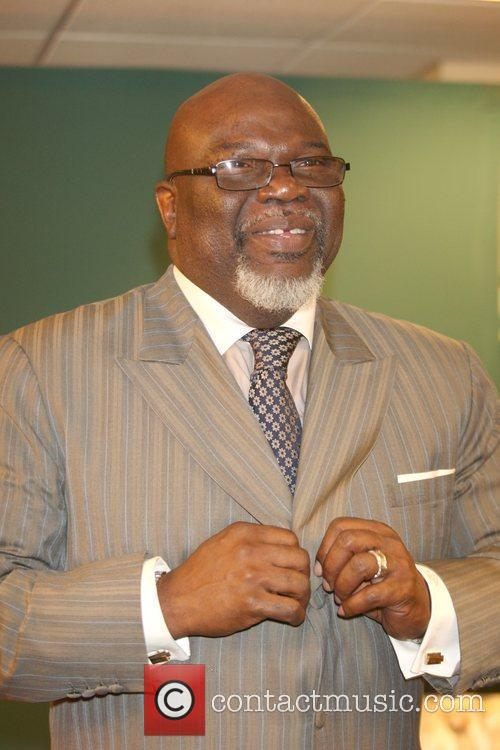 Bishop T.D. Jakes promotes his new book 'Let...