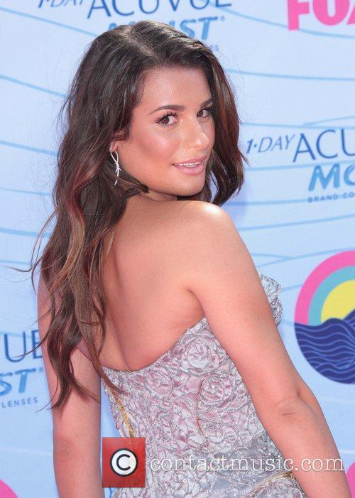 Lea Michele and Gibson Amphitheatre 6