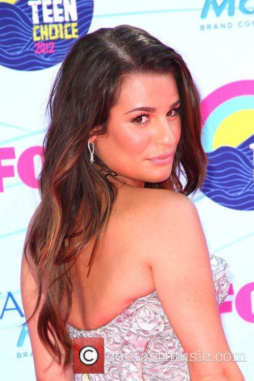 Lea Michele and Gibson Amphitheatre 8