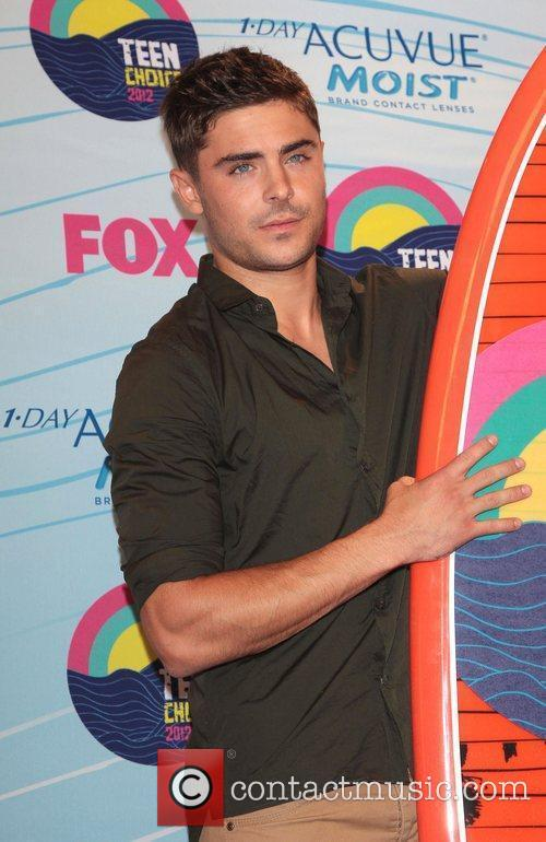 Zac Efron and Gibson Amphitheatre 1