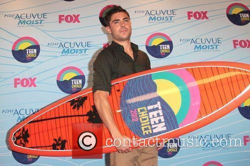Zac Efron and Gibson Amphitheatre 6