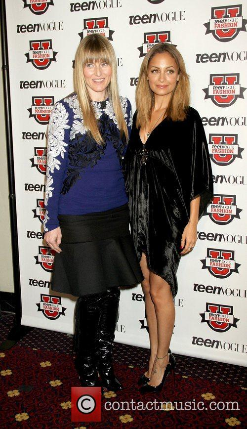 Teen Vogue Editor-in-Chief Amy Astley and Nicole Richie...