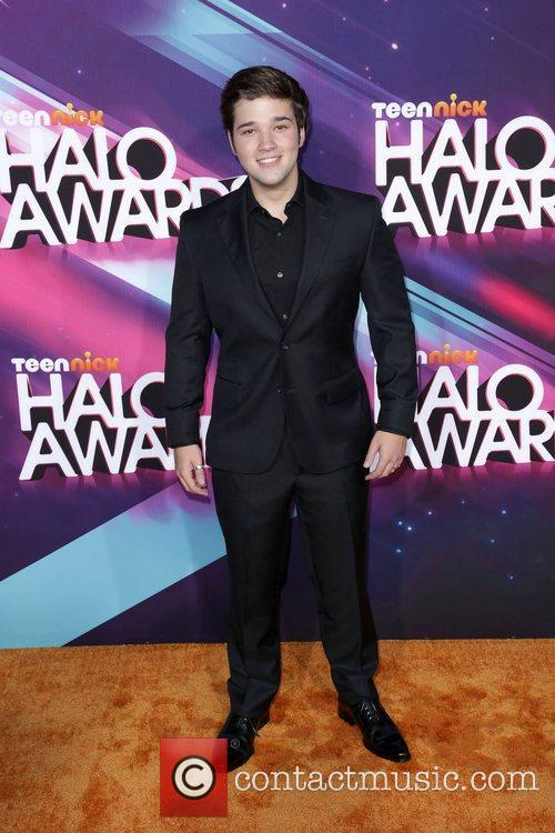 Nathan Kress attends the Nickelodeon's 2012 TeenNick HALO...
