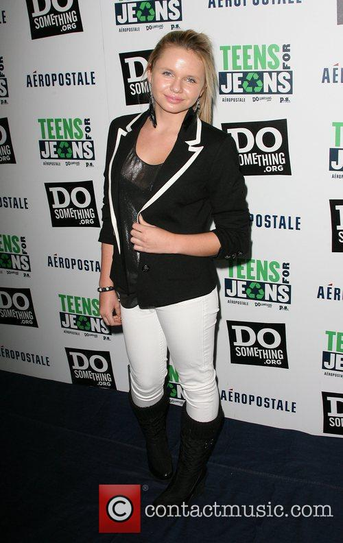 Alli Simpson DoSomething.org and Aeropostale Celebrate Launch of...