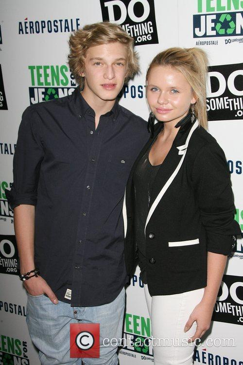 Cody Simpson and sister Alli Simpson DoSomething.org and...