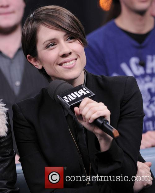 Tegan & Sarah interview on Much Music's NEW.MUSIC.LIVE....