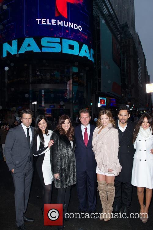Telemundo, The NASDAQ Stock, Market Opening Bell