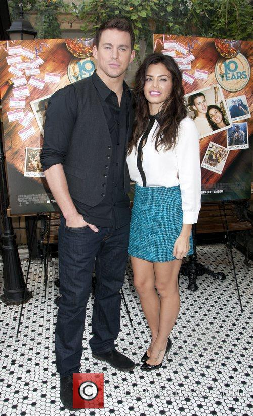 Channing Tatum, Jenna Dewan-Tatum '10 Years' brunch reunion...