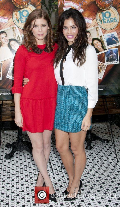 Kate Mara, Jenna Dewan-Tatum '10 Years' brunch reunion...