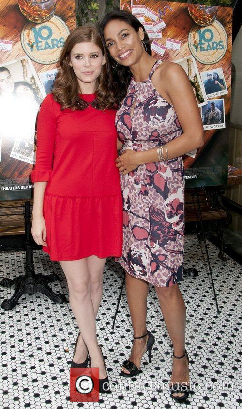 Kate Mara, Rosario Dawson '10 Years' brunch reunion...