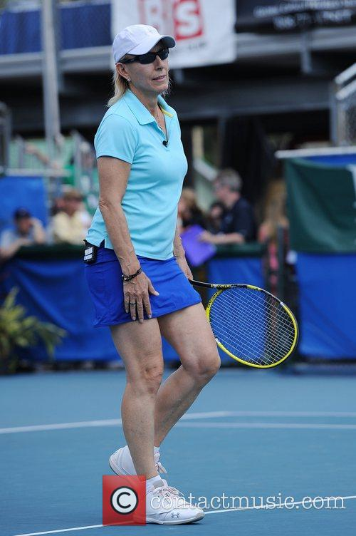 martina navratilova 23rd annual chris evertraymond james 4152555