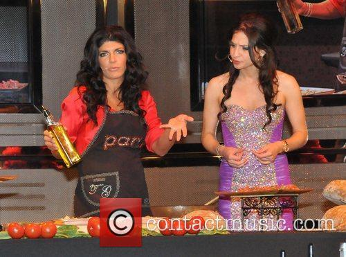 Teresa Giudice reality star attends a Mother's Day...