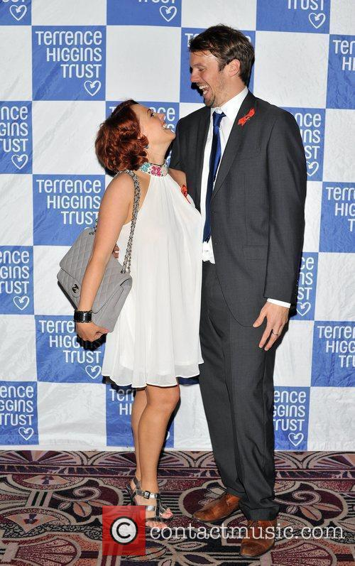 Sarah Cawood and Andy Merry Terrence Higgins Trust:...
