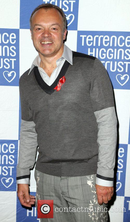 Graham Norton attending 'The Supper Club' in aid...