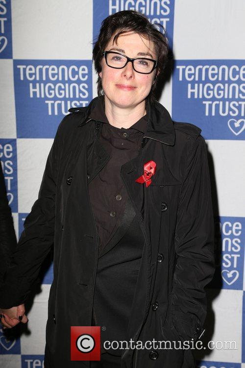 Sue Perkins attending 'The Supper Club' in aid...