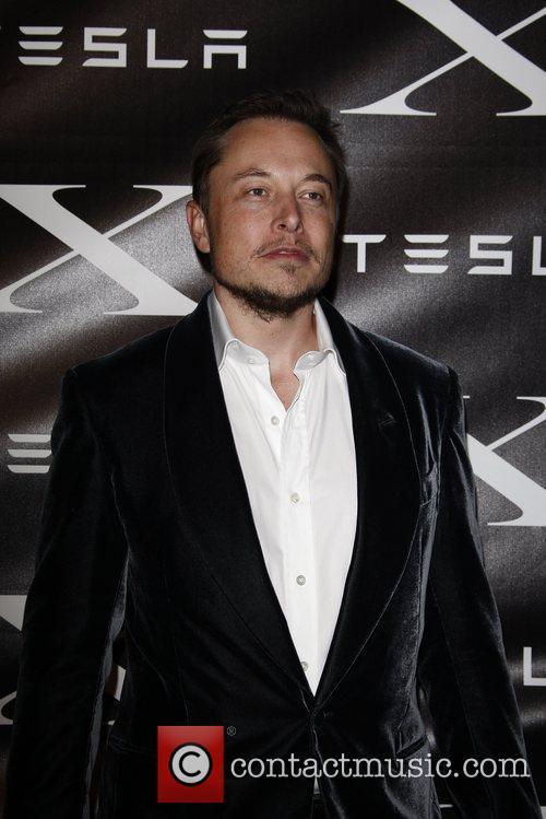 Elon Musk Tesla Worldwide Debut of Model X...