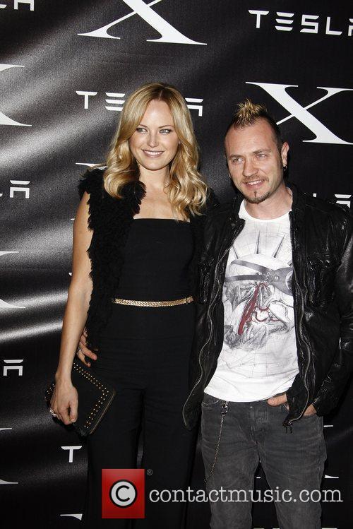 Malin Akerman; Roberto Zincone  Tesla Worldwide Debut...