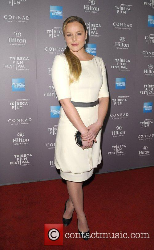 Abbie Cornish and Beverly Hilton Hotel 2