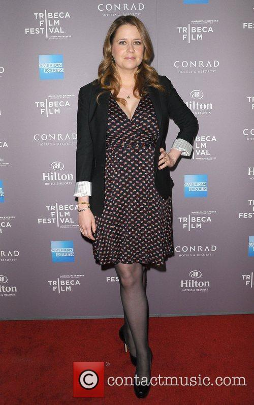 Jenna Fischer and Beverly Hilton Hotel 1