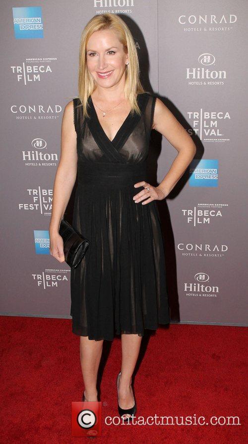 Angela Kinsey and Beverly Hilton Hotel 4