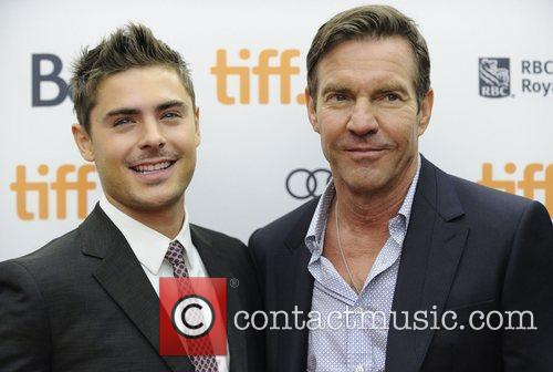 Zac Efron and Dennis Quaid 2