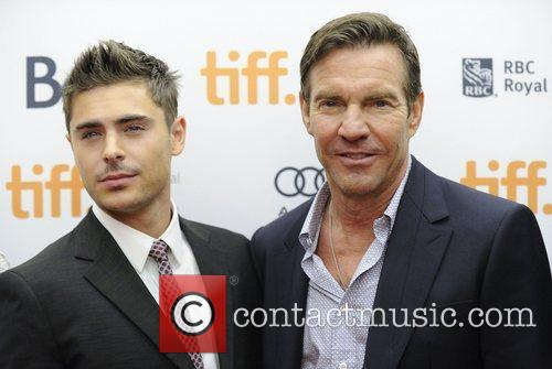 Zac Efron and Dennis Quaid 3