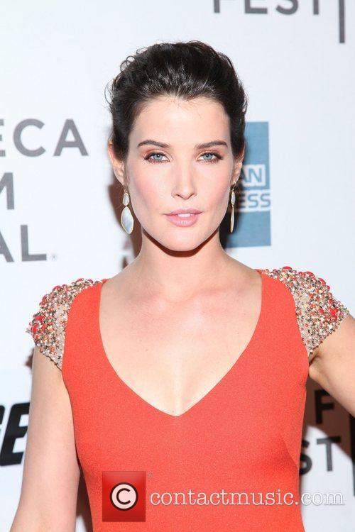 Cobie Smulders the 'Marvel's The Avengers' premiere during...