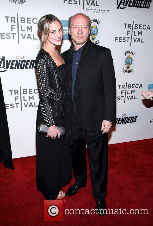Elizabeth Beare and Paul Haggis the 'Marvel's The...