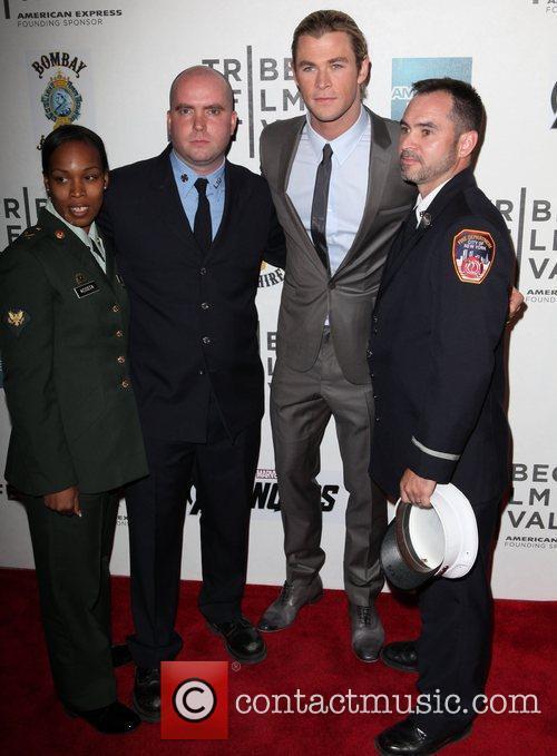 Chris Hemsworth and Tribeca Film Festival 5