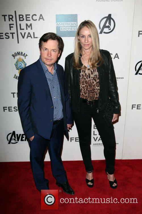 Michael J Fox, Tracy Pollan and Tribeca Film Festival 2