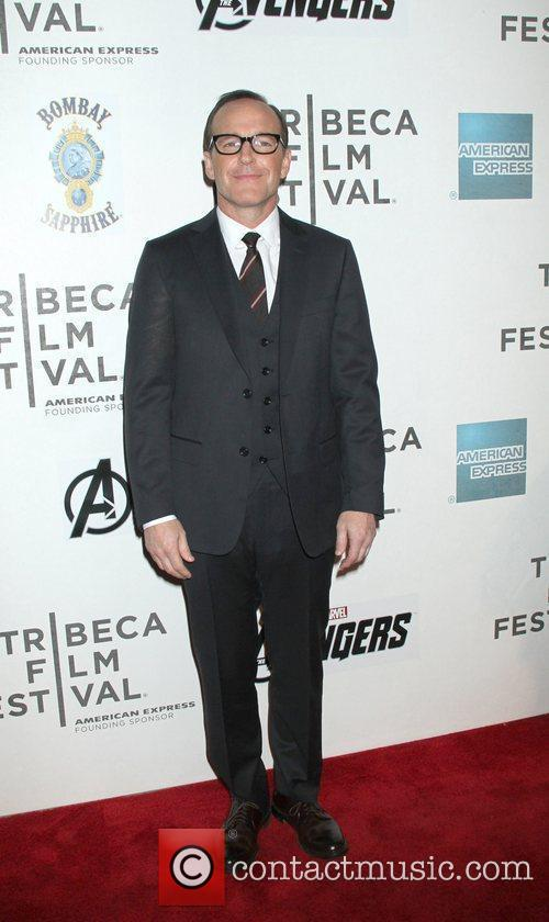 Clark Gregg, Tracy Pollan and Tribeca Film Festival 1