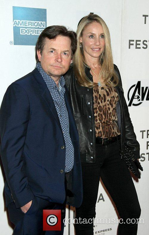 Michael J Fox, Tracy Pollan and Tribeca Film Festival 11