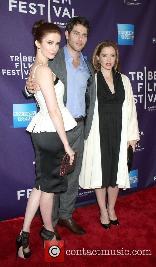 Bitsie Tulloch, Marguerite Moreau and Tribeca Film Festival 1