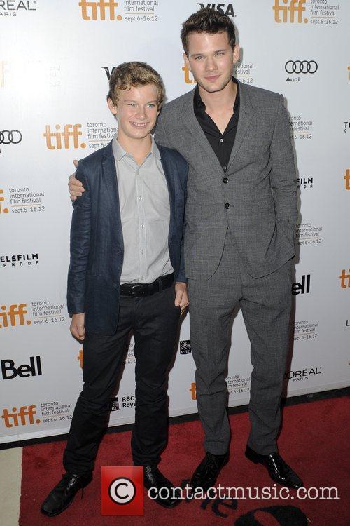 Toby Irvine and Jeremy Irvine  2012 Toronto...