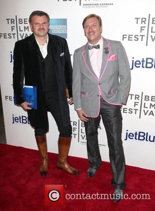 Shawn Daivari and Allan Peterkin Tribeca Film Festival...