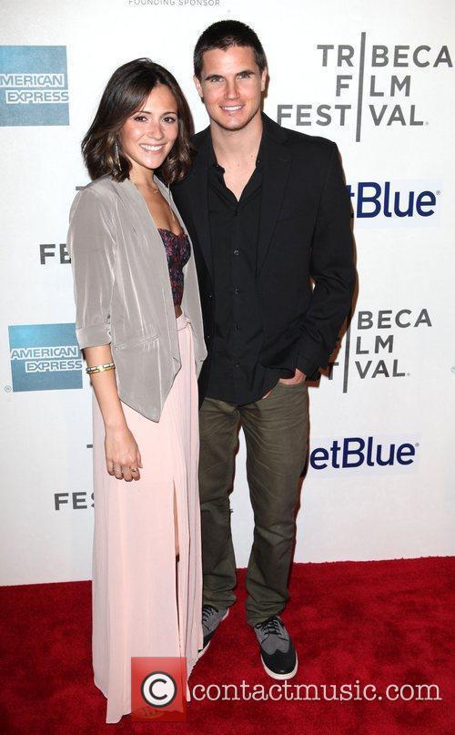 Italia Ricci and Robbie Amell 2012 Tribeca Film...