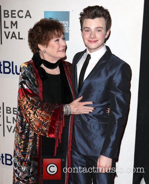 Polly Bergen and Chris Colfer 2012 Tribeca Film...