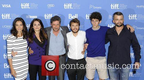 Penelope Cruz, Emile Hirsch and Sergio Castellitto 2