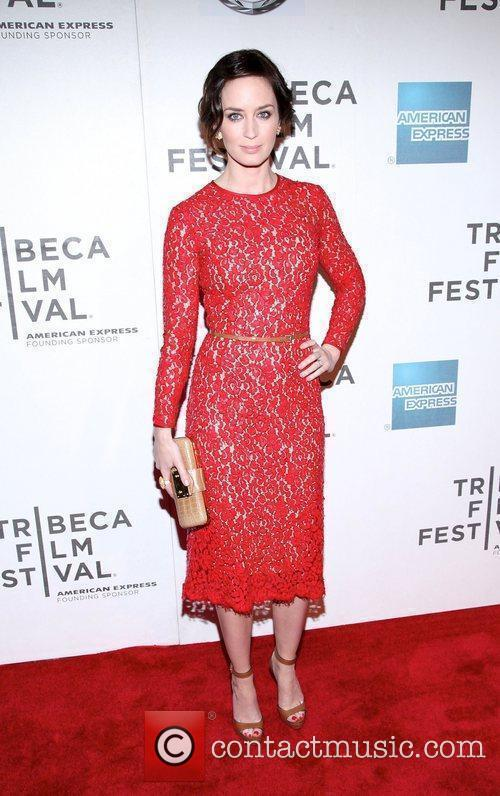 Emily Blunt and Tribeca Film Festival 5
