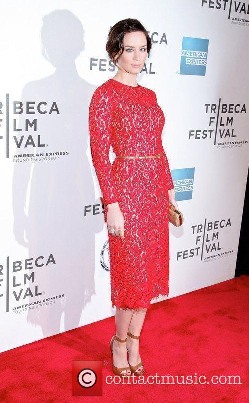 Emily Blunt and Tribeca Film Festival 10