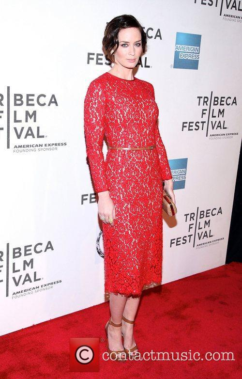 Emily Blunt and Tribeca Film Festival 1