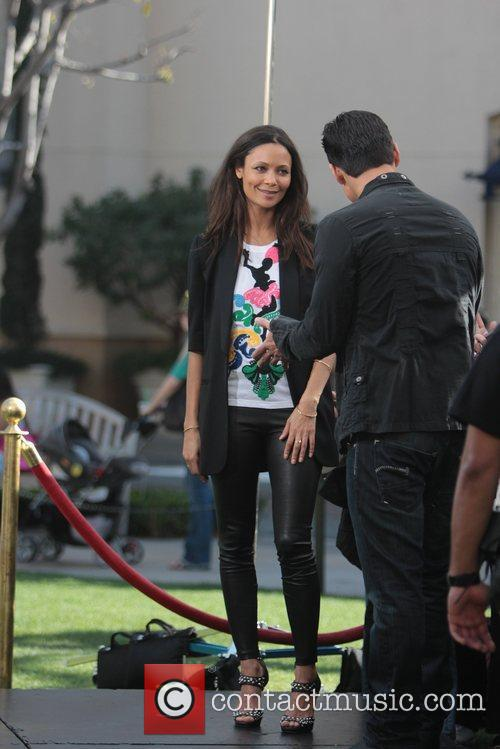 Thandie Newton at The Grove to appear on...