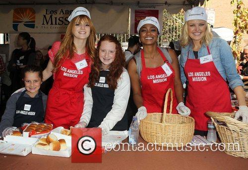 Bella Thorne, Emma Kenney, Tatyana Ali, Malin Akerman and Los Angeles Mission 5