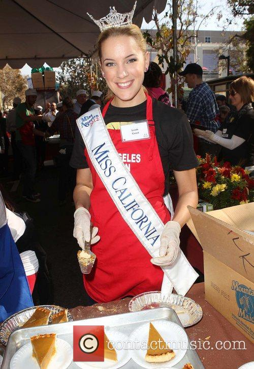Miss California, Leah Cecil and Los Angeles Mission
