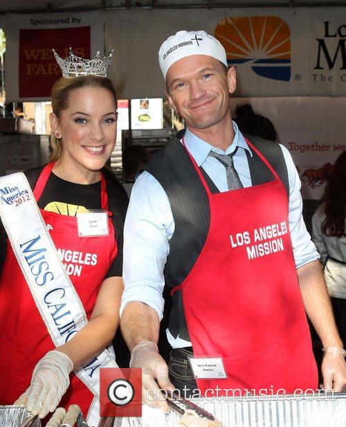 Miss California, Leah Cecil, Neil Patrick Harris and Los Angeles Mission 3