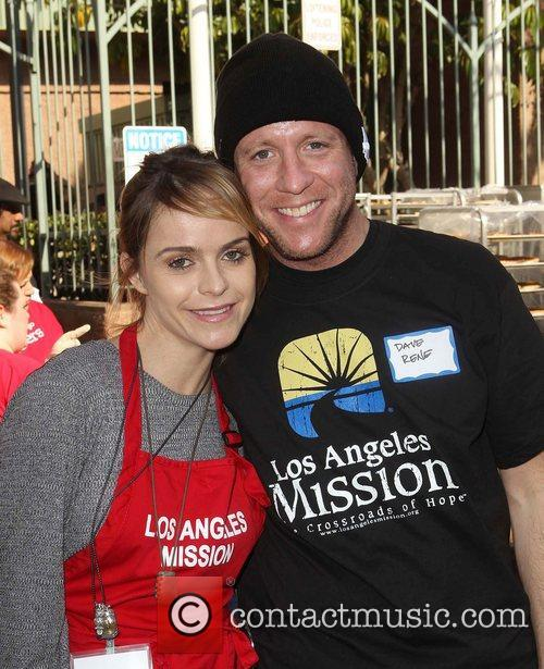Taryn Manning, Dave Rene and Los Angeles Mission 3