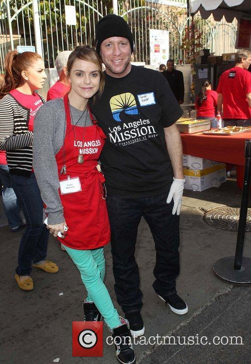 Taryn Manning, Dave Rene and Los Angeles Mission 4